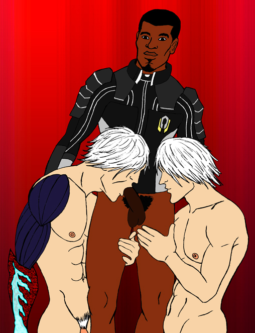 from and series devil knuckles dante the featuring may cry Sexy avatar the last airbender