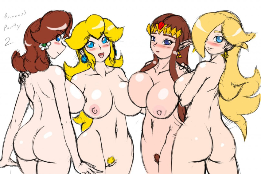 princess peach and rosalina daisy That time i got reincarnated as a slime goblins