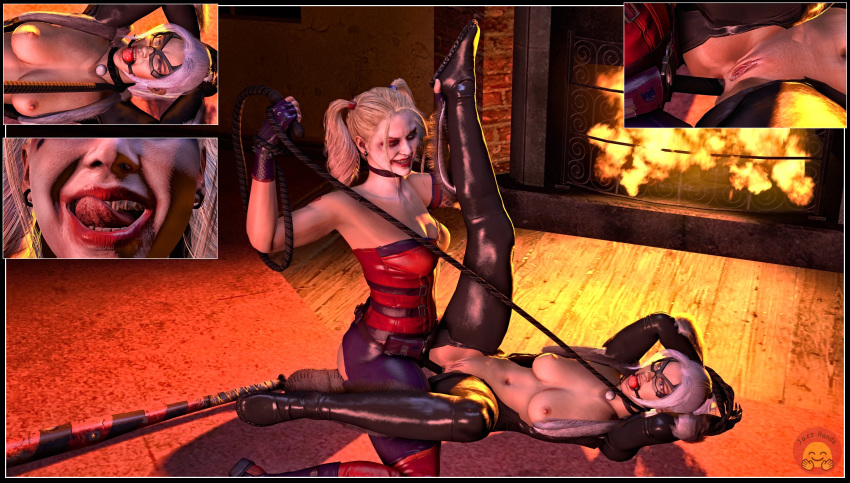 and quinn porn harley deadpool The developing adventures of golden girl comic