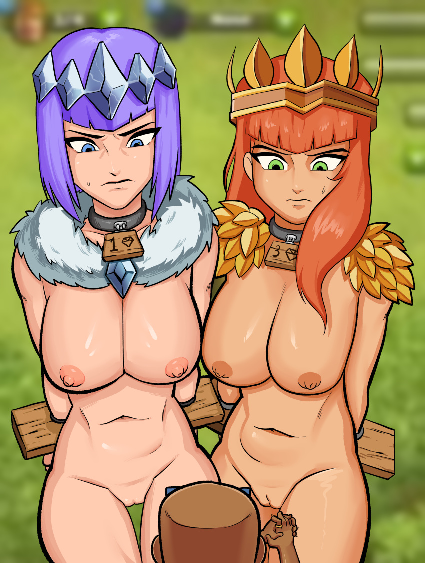girls of naked clash clans Assassin's creed origins cleopatra nude