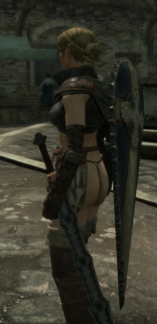 dragon's mod dogma breasts bigger No more heroes speed buster
