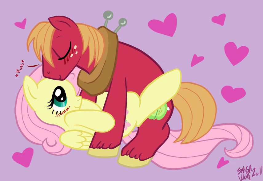 mac mlp big fluttershy and Clash of clans archer queen